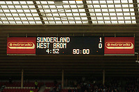 Photo: Jed Wee.<br />Sunderland v West Bromwich Albion. The Barclays Premiership. 17/09/2005.<br /><br />So close, yet so far, as Sunderland hold their lead until injury time but fail to clinch their first win in the Premiership since December 2002.