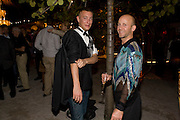 FLORIEN SAILER; MARC ZAFFUTO, The Launch of Visionaire 55 Surprise in collaboration with Krug. Raleigh Hotel. Art Basel Miami Beach. 4 December 2008 *** Local Caption *** -DO NOT ARCHIVE -Copyright Photograph by Dafydd Jones. 248 Clapham Rd. London SW9 0PZ. Tel 0207 820 0771. www.dafjones.com
