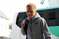 Fotball , 17. juni 2020 , Eliteserien,<br />Haugesund - Brann Bergen<br />Taijo Teniste fra Brann Bergen før kampen mot Haugesund.<br />Foto: Andrew Halseid Budd , Digitalsport