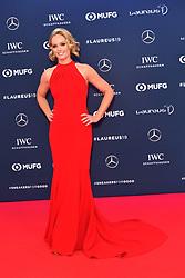 February 18, 2019 - Monaco, Monaco - Amanda Davies arriving at the 2019 Laureus World Sports Awards on February 18, 2019 in Monaco  (Credit Image: © Famous/Ace Pictures via ZUMA Press)