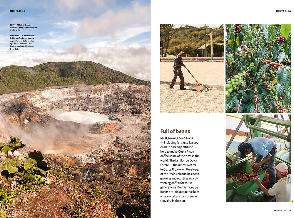 Costa Rica article published in National Geographic Traveller Magazine UK edition.