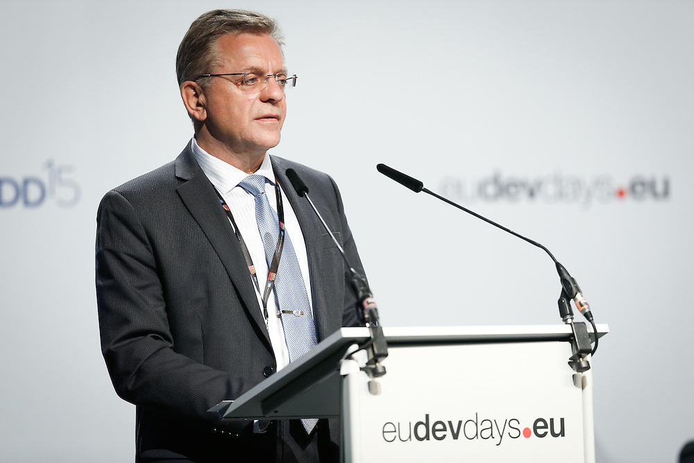 03 June 2015 - Belgium - Brussels - European Development Days - EDD - Human Rights - Sustainable Development Goal - What role for the National Human Rights Institutions? - Vladlen Stefanov ,  Chief, National Institutions and Regional Mechanisms Section, Office of the United Nations High Commissioner for Human Rights (OHCHR) © European Union