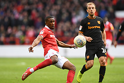 March 9, 2019 - Nottingham, England, United Kingdom - Tendayi Darikwa (27) of Nottingham Forest during the Sky Bet Championship match between Nottingham Forest and Hull City at the City Ground, Nottingham on Saturday 9th March 2019. (Credit Image: © Jon Hobley/NurPhoto via ZUMA Press)