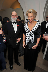 TRH PRINCE & PRINCESS MICHAEL OF KENT at the Royal Rajasthan Gala 2009 benefiting the Indian Head Injury Foundation held at The Banqueting House, Whitehall, London on 9th November 2009.