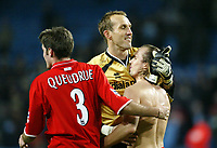 Fotball, 30. november 2003, Premier League, Manchester City - Middlesbrough 0-1, Mark Schwarzer, Frank Queudrue, og Boudewijn Zenden