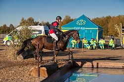 Van Steen Kris, BEL, Lucky One van de Conynenberg<br /> Eventing Sint Gillis Waas 2019<br /> © Hippo Foto - Dirk Caremans<br /> 10/11/2019
