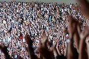 Belo Horizonte_MG, Brasil...Estadio Governador Magalhaes Pinto (Mineirao) em Belo Horizonte, Minas Gerais. Classico no Mineirao, Atletico Mineiro e Cruzeiro se enrentam pela final do Campeonato Mineiro...The Governador Magalhaes Pinto Stadium (Mineirao) in Belo Horizonte, Minas Gerais. In this photo the match between Atletico-MG and Cruzeiro in the championship in Minas Gerais...Foto: BRUNO MAGALHAES / NITRO