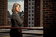 Lauren Zalaznick, President of NBC Universal Women and Lifestyle Entertainment Networks, overseeing Bravo, Oxygen, and iVillage.  Photographed in New York City, by Brian Smale for Fortune Magazine's list of the world's most powerful women.