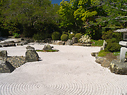 View of the Japanese Garden, Queens Park, central Invercargill, New Zealand