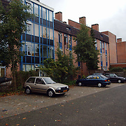 Achterzijde wooncentrum Nijenrode Huizen ext.