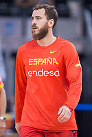 Spain's Sergio Rodriguez during friendly match for the preparation for Eurobasket 2017 between Spain and Venezuela at Madrid Arena in Madrid, Spain August 15, 2017. (ALTERPHOTOS/Borja B.Hojas)