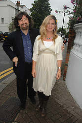 SIR TREVOR NUNN and his wife IMOGEN STUBBS at the annual Sir David & Lady Carina Frost Summer Party in Carlyle Square, London SW3 on 5th July 2007.<br /><br />NON EXCLUSIVE - WORLD RIGHTS
