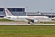 Tunisair Airbus A320 at Milan - Malpensa (MXP / LIMC) Italy