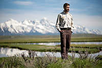 Brian Glaspell took over as manager of the National Elk Refuge in February after about four years as the top employee at Alaska's Arctic National Wildlife Refuge.