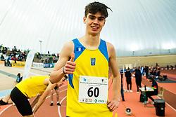 Vid Botolin during Slovenian Indoor Championship, Olympic centre Novo Mesto, 13 February 2021, Novo Mesto, Slovenia. Photo by Grega Valancic / Sportida