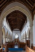 Village parish church Cratfield, Suffolk, England, UK