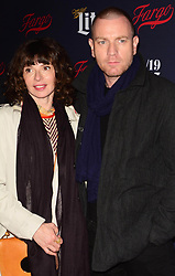 Eve Mavrakis and Ewan McGregor at The 2017 FX Network Upfronts in New York City