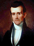 James Knox  Polk (1795-1849) American Democratic politician,  eleventh President of the United States of America.  Achieved territorial expansion, securing Oregon Territory, 525,000 square miles, and purchasing 525,000 square miles with the Treaty of Guadalupe-Hidalgo which ended the Mexican-American War, 1846-1848.