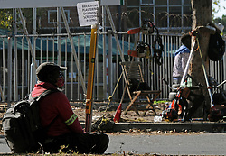 South Africa - Cape Town - 6 June 2020 - Coronavirus Lockdown - An unemployed building contractor is one of many unemployed people on Rosmead Avenue, Wynberg. Picture: Tracey Adams/African News Agency(ANA)