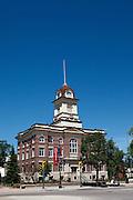 Saint-Boniface City Hall, Winnipeg, Canada.