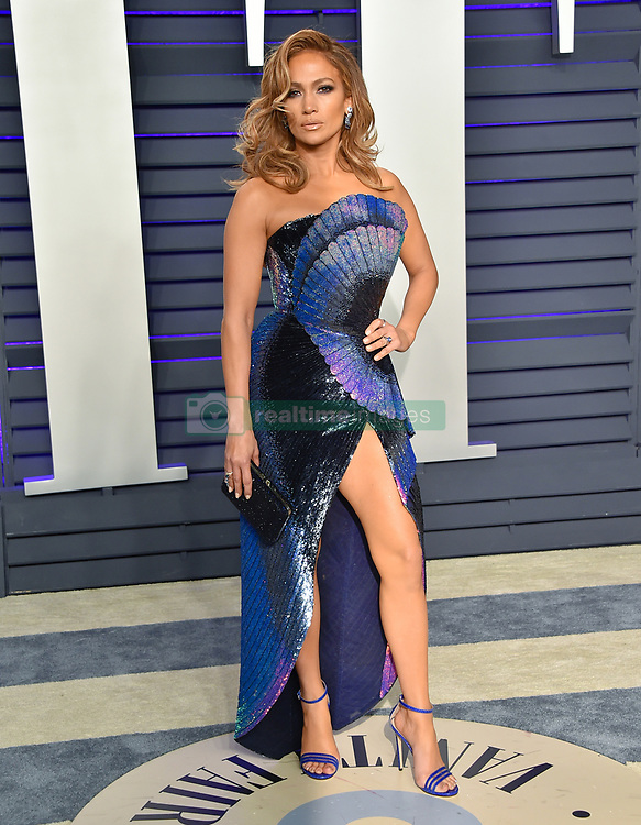 Jennifer Lopez arriving at the Vanity Fair Oscar Party in Beverly Hills, California - Feb 24, 2019 - Photo: Runway Manhattan