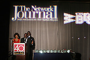 Stacy J., Aziz Gueye Adetimirin at The Network Journal 40 under Forty 2008 Achievement Awards held at the Crowne Plaza Hotel on June 12, 2008