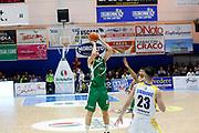 Zerini Andrea<br /> Betaland Capo d'Orlando - Sidigas Avellino <br /> Campionato Basket Lega A 2017-18 <br /> Capo d'Orlando 22/04/2018<br /> Foto Ciamillo-Castoria
