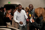 IDRIS ELBA; OSWALD BOATENG;, Esquire Magazine's June issue hosted by the magazine's new editor Alex Bilmes and singer Lily Allen. Sketch.  5 May 2011<br /> <br />  , -DO NOT ARCHIVE-© Copyright Photograph by Dafydd Jones. 248 Clapham Rd. London SW9 0PZ. Tel 0207 820 0771. www.dafjones.com.