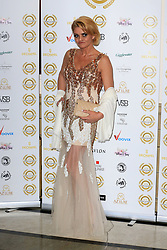 attends the National Film Awards at the Porchester Hall in London, UK. 28 Mar 2018 Pictured: Danniella Westbrook. Photo credit: MEGA TheMegaAgency.com +1 888 505 6342
