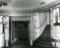 1948 Interior of the Florentine Gardens Nightclub