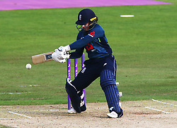 June 15, 2018 - Canterbury, England, United Kingdom - Tammy Beaumont of England Women.during Women's One Day International Series match between England Women against South Africa Women at The Spitfire Ground, St Lawrence, Canterbury, on 15 June 2018  (Credit Image: © Kieran Galvin/NurPhoto via ZUMA Press)