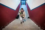 Javier Calvelo/ URUGUAY/ MONTEVIDEO/ CAMPEONATO URUGUAYO 2014-2015 -  TORNEO CLAUSURA/  14 FECHA/  Nacional - Rentistas<br /> Cancha: Gran Parque Central. <br /> En la foto:  Guillermo Bohm en el Parque Cenral. Foto: Javier Calvelo /  adhocFOTOS<br /> adhocFotos
