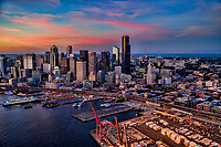 Port of Seattle & Skyline