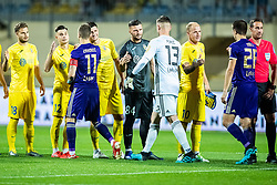 Ajdin Mulalic of NK Domzale and Kenan Piric of NK Maribor during football match between NK Domzale and NK Maribor in 8th Round of Prva liga Telekom Slovenije 2019/20, on August 30, 2019 in Sport park Domzale, Domzale, Slovenia. Photo by Grega Valancic / Sportida