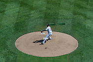 Kevin Correia #30 of the Minnesota Twins pitches during a game against the Miami Marlins in Game 1 of a split doubleheader on April 23, 2013 at Target Field in Minneapolis, Minnesota.  The Twins defeated the Marlins 4 to 3.  Photo: Ben Krause