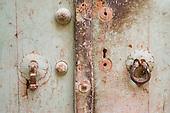 His and hers door knockers. Yazd