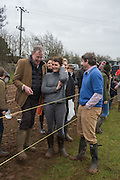 JEREMY CLARKSON; COCO LAMBERT; CHARLIE BROOKS, The Heythrop Hunt Point to Point. Cocklebarrow. 24 January 2016