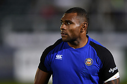 Semesa Rokoduguni of Bath Rugby looks on during the pre-match warm-up - Mandatory byline: Patrick Khachfe/JMP - 07966 386802 - 05/10/2018 - RUGBY UNION - The Recreation Ground - London, England - Bath Rugby v Exeter Chiefs - Gallagher Premiership Rugby