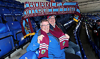 Burnley Fans at the start of todays match<br /> <br /> Photographer Rachel Holborn/CameraSport<br /> <br /> The Premier League - Saturday 10th November 2018 - Leicester City v Burnley - King Power Stadium - Leicester<br /> <br /> World Copyright © 2018 CameraSport. All rights reserved. 43 Linden Ave. Countesthorpe. Leicester. England. LE8 5PG - Tel: +44 (0) 116 277 4147 - admin@camerasport.com - www.camerasport.com