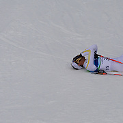 Winter Olympics, Vancouver, 2010.Marcus Hellner, Sweden who was in contention for a medal but finished fourth in the Men's 15km Cross Country Skiing event at The Whistler Olympic Park, Whistler, during the Vancouver Winter Olympics. 14th February 2010. Photo Tim Clayton