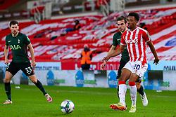 Tashan Oakley-Boothe of Stoke City - Mandatory by-line: Nick Browning/JMP - 23/12/2020 - FOOTBALL - Bet365 Stadium - Stoke-on-Trent, England - Stoke City v Tottenham Hotspur - Carabao Cup