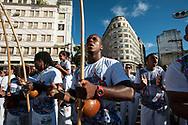 Anniversary of the founding of Salvador de Bahia, rodas de Capoeira