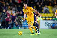 Declan Gallagher (#31) of Livingston FC during the Ladbrokes Scottish Premiership match between Livingston FC and Heart of Midlothian FC at the Tony Macaroni Arena, Livingston, Scotland on 14 December 2018.