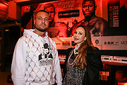 """BOXEN: EC Boxing & SES Boxing, Hamburg, 18.01.2020<br /> Eric Sindermann """"Dr. Sindsen"""" und Alex Ceylan<br /> © Torsten Helmke"""