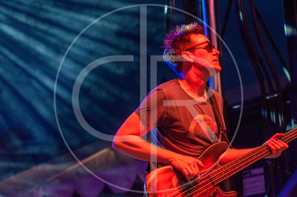BALTIMORE United States - July 19, 2014: Robert Mercurio of Galactic performs on the Wells Fargo Stage at Artscape, located in Baltimore's Mount Royal Cultural Corridor