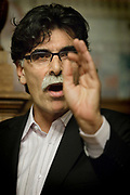 Dutch/ Iranian writer Kader Abdolah // Schrijver Kader Abdolah.