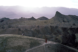 CA: Death Valley National Park, Zabriske Point                           .Photo by Lee Foster, lee@fostertravel.com, www.fostertravel.com, (510) 549-2202.Image: cadeat224
