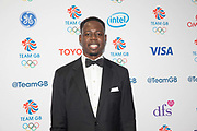 British professional basketball player Eric Boateng at Team GB's annual ball at Old Billingsgate on the 21st November 2019 in London in the United Kingdom.