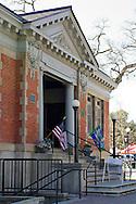 Old Public Library Building in the City Park Plaza, Paso Robles, San Luis Obispo County, California
