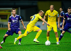 Zeni Husmani of NK Domzale during football match between NK Domzale and NK Maribor in 2nd Round of Prva liga Telekom Slovenije 2020/21, on August 30, 2020 in Športni park Domzale, Slovenia. Photo by Vid Ponikvar / Sportida